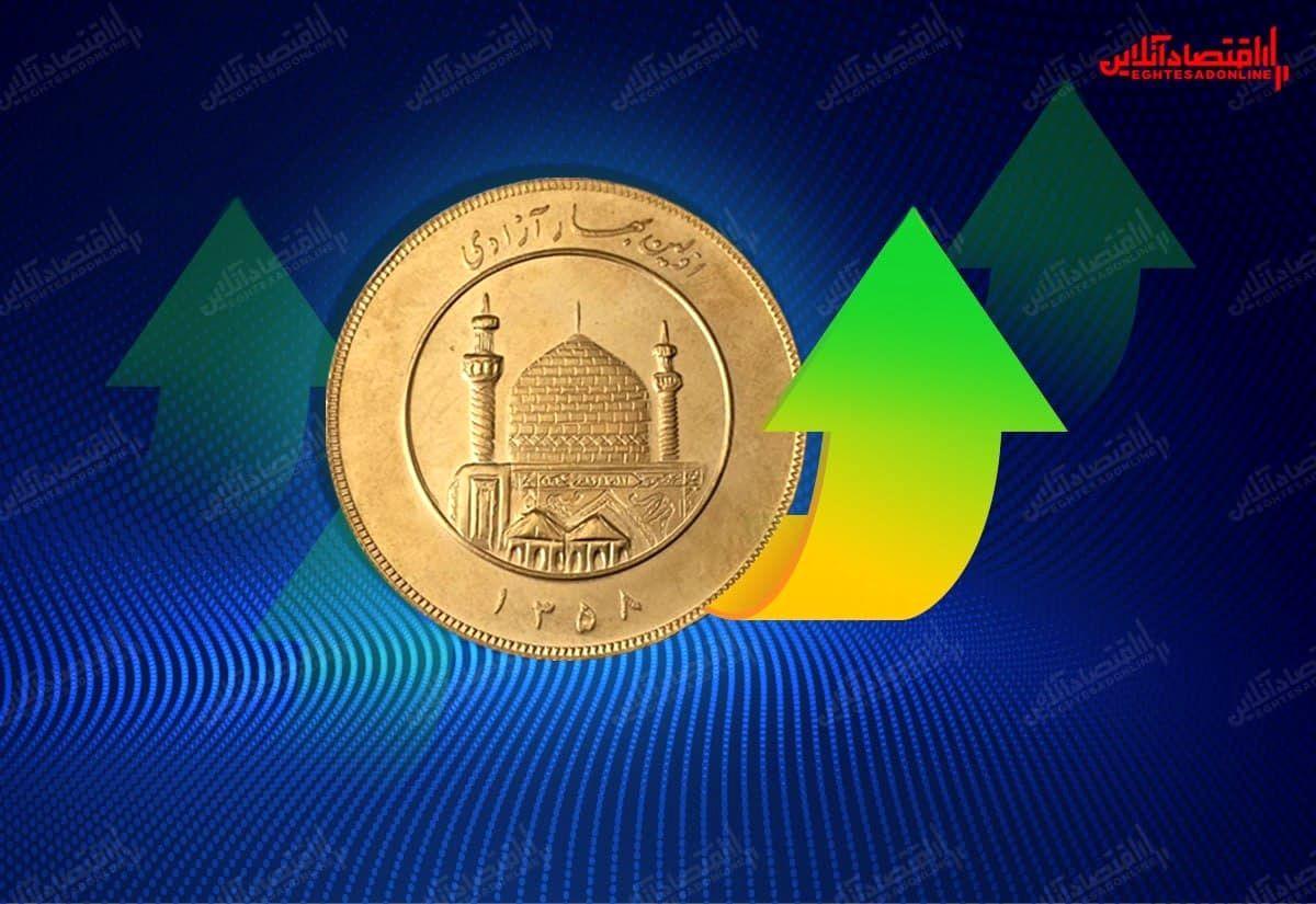 بیتوجهی طلا به افزایش قیمت دلار/ سکه ٣۵٠هزار تومان گران شد