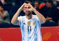 صعود مقتدرانه تیم فوتسال آرژانتین با حذف پاراگوئه