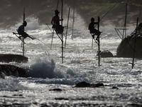 فصل صید ماهی در آبهای چین +تصاویر