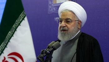 روحانی: منطق ما با آمریکا نمیخواند +فیلم