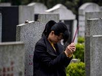 روز پاکسازی قبور در چین +تصاویر
