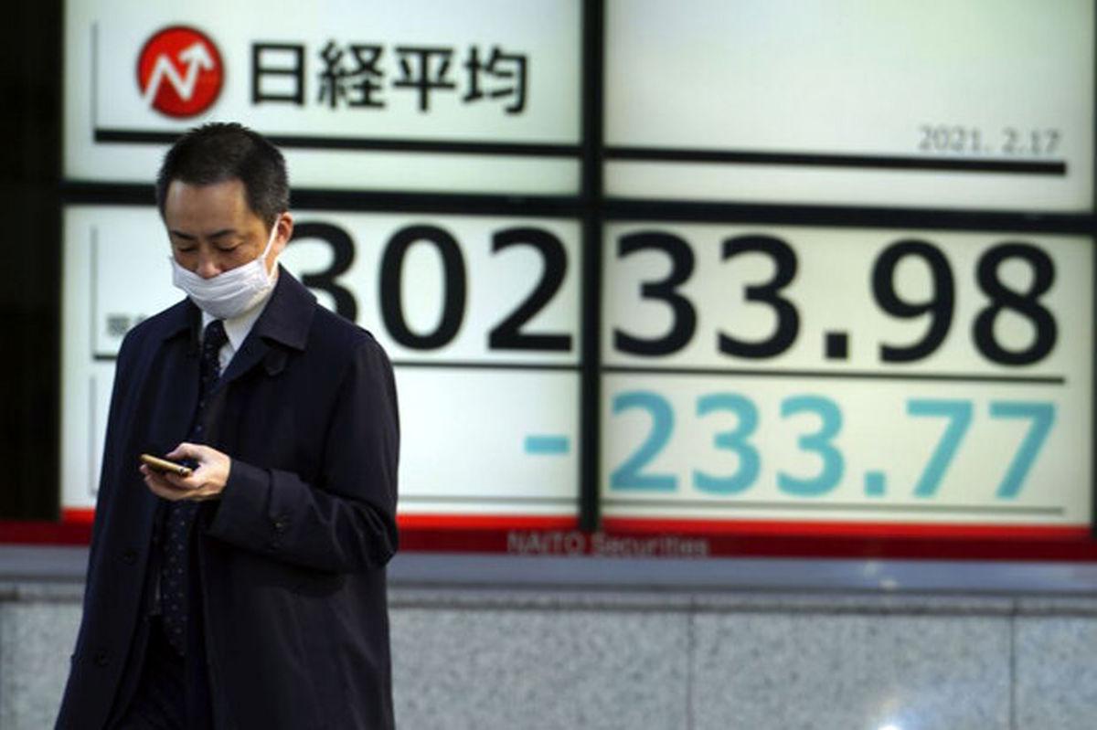 نوسان در بازار سهام آسیایی