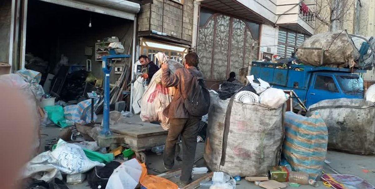 زبالهگردی در تهران کم شده است