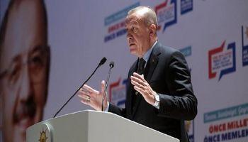 اردوغان از خجالت مکرون درآمد