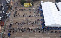 هجوم چند باره مردم انگلیس به فروشگاهها