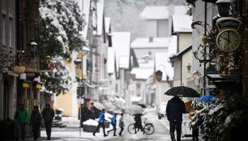 بهار زمستانی در اروپا +تصاویر