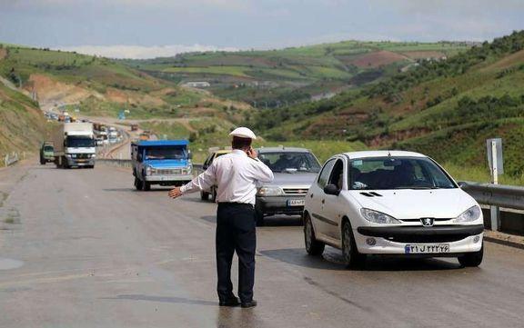 افزایش ۱۱.۵ درصدی تردد جادهای در شبانه روز گذشته