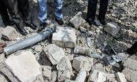 اصابت ۳خمپاره جنگ قره باغ به مرزهای ایران +عکس