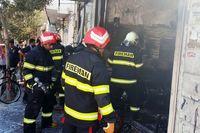انفجار یک مغازه مشاوره املاک در ورامین +عکس