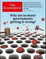 درک نادرست دولتها از همهگیری کرونا؛ روی جلد اکونومیست