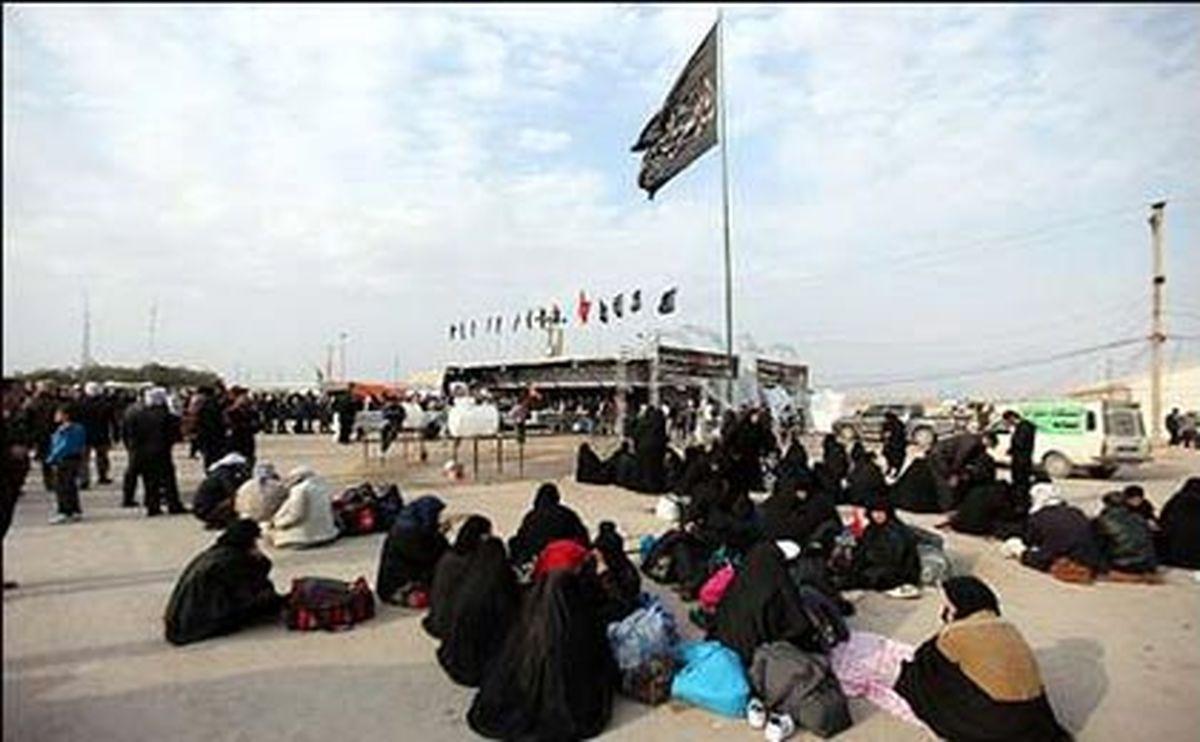 پرداخت عوارض زائران اربعین در مرز شلمچه لغو شد