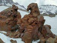 صخرهای عجیب در اردبیل +عکس