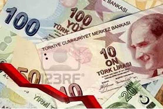 ارزش لیره و سهام در بازار ترکیه کاهش یافت