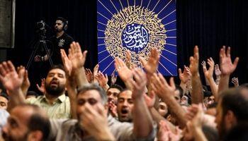 جشن میلاد امام رضا(ع) در هیئت ریحانة الحسین +عکس