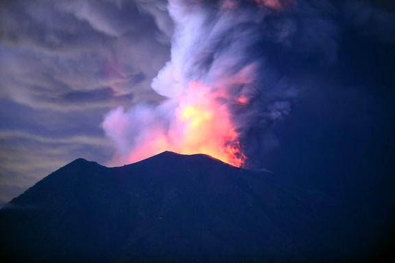 سوختن عروس و داماد آمریکایی در آتشفشان نیوزلند +عکس