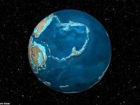 نقشه زمین در ۶۰۰ میلیون سال پیش +عکس