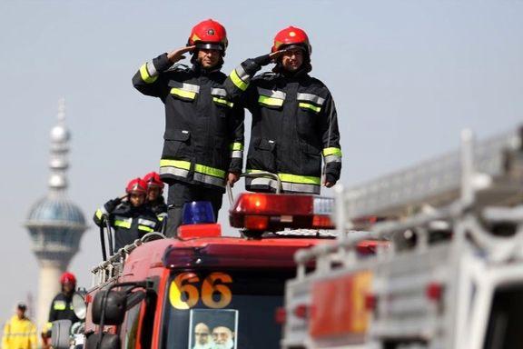 همکاری آتشنشانی تهران با سامانه شاد