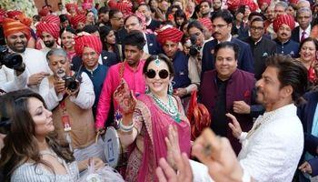 جشن عروسی فرزند ثروتمندترین مرد آسیا +تصاویر