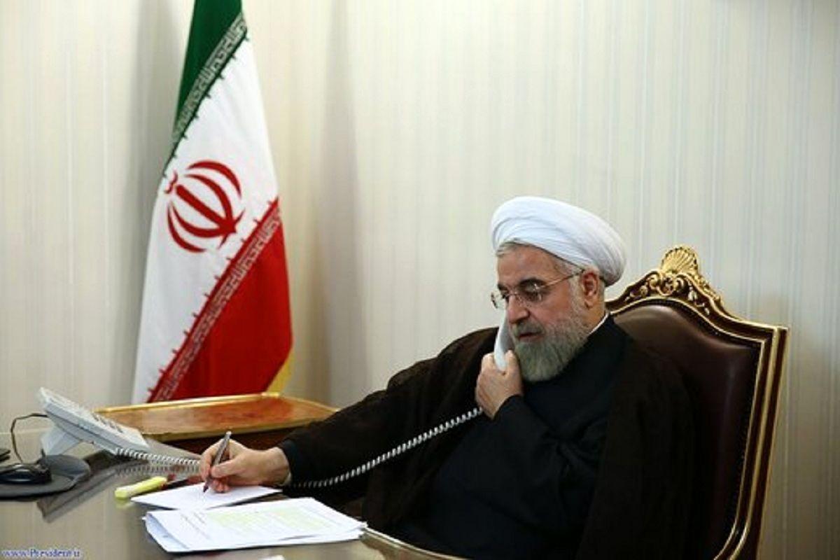 روحانی عید قربان را به برهم صالح تبریک گفت