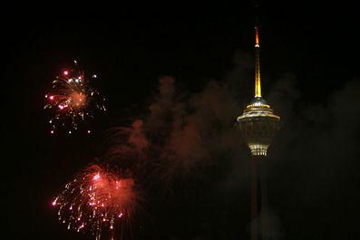 برج تلویزیون میلاد تهران- ایران