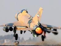 شلیک راکت ۷۰میلیمتری هایدرا از جنگنده F۷ ارتش +عکس