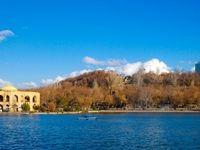 تفرجگاه ائل گلی تبریز +تصاویر