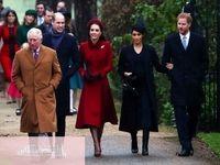 عروسهای سلطنتی در مراسم روز کریسمس +فیلم