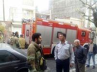 حریق یک انبار در خیابان مصطفی خمینی