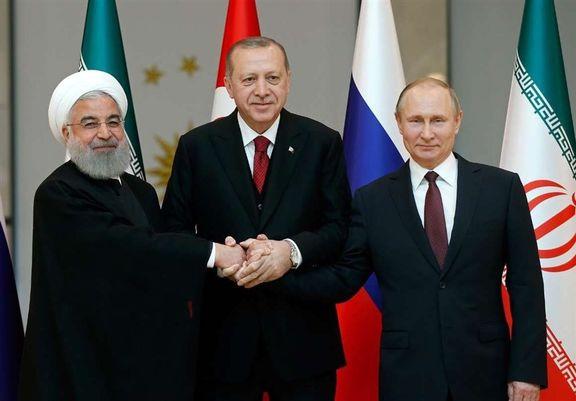 بیانیه ترکیه درباره نشست سه جانبه درباره سوریه