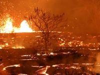 فورانهای آتشفشانی سال2018 +عکس