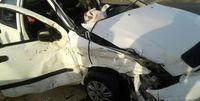 مرگ دلخراش راننده سمند بر اثر برخورد با کامیون