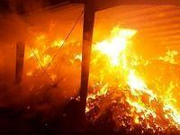 آتشسوزی یک واحد تولیدی 17نفر را روانه بیمارستان کرد