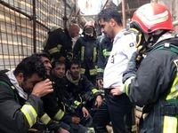 آتش سوزی در هتل آسمان شیراز ۸مصدوم بر جای گذاشت