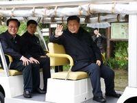 رئیس جمهور بدون ماسک به پارک رفت +تصاویر