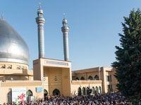 نماز عید فطر در شهرهای مختلف ایران +تصاویر