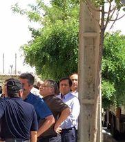 رییس بیمهمرکزی در صف رایدادن +عکس