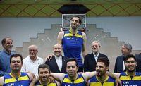 تصویری جالب از دیدار لاریجانی با ورزشکاران ایران
