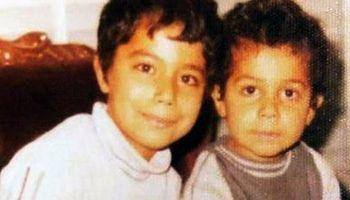 جواد رضویان در کنار برادرش +عکس