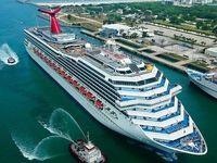 استقبال از ورود کشتیهای بینالمللی گردشگری به بنادر کشور/ ورود کشتیهای کروز به جزایر جنوبی ایران