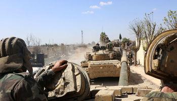 مناطق دیگری در جنوب سوریه از دست داعش آزاد شد