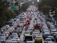 کاهش ۳۰درصدی ترافیک تهران در پنجشنبه بدون طرح ترافیک