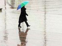 تگرگ و وزش باد شدید در تهران