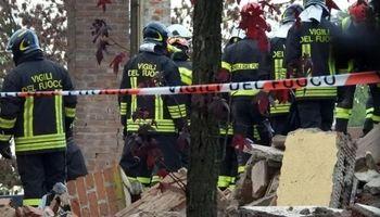 مرگ وحشتناک ۳آتشنشان در انفجار یک خانه +عکس