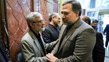 مراسم ختم برادر سخنگوی دولتهای نهم و دهم  +تصاویر