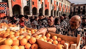 جنگ با پرتقال! +تصاویر