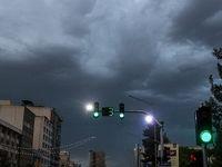 طوفان شدید در تهران +تصاویر