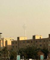 تهران غرق در دود و غبار +عکس