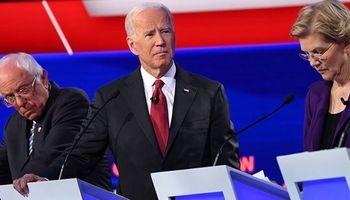 اختلاف محبوبیت جو بایدن با دیگر رقبا دو رقمی شد