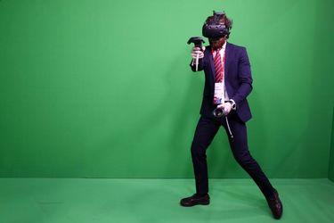 کنگره جهانی موبایل، DisplayLink wireless VR