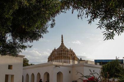 معماری جالب معبد هندوها در بندرعباس +عکس